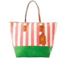 Dooney & Bourke Linen O-Ring Shopper $171