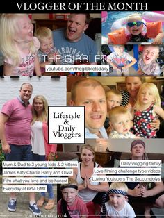 VLOGGER SPOTLIGHT // JAMES AND KATY - THE GIBBLETS - Daily Essential Magazine - Blog-led Family Focused Magazine Style