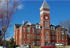 Clemson University is a public institution that was founded in 1889. It has a total undergraduate enrollment of 16,562, its setting is suburban, and the campus size is 17,000 acres. It utilizes a semester-based academic calendar. Clemson University's ranking in the 2014 edition of Best Colleges is National Universities, 62. Its in-state tuition and fees are $13,382 (2013-14); out-of-state tuition and fees are $30,816 (2013-14).Location: Clemson, SC