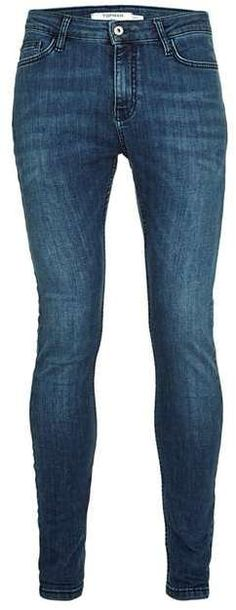 Dark Wash Spray On Skinny Jeans Low Rise Jeans, Just For You, Skinny Jeans, Dark, Stylish, Pants, Blue, Men, Tops