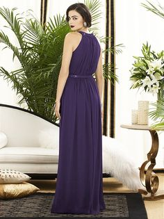 Dessy Collection Style 2887 in 'concord' color..
