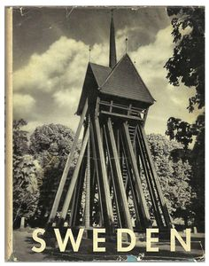 Sweden, by Otto Siegner - Vintage Travel Photography Book, $26.00