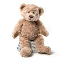 Thinking about this bear as a baby gift...for the next one that comes along.