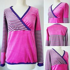 +LUCK+ It took me only 1 week and some sick days to #sew this gem ️ Luckily I had enough leftover fabric to make a new *patchwork* #sweater. #sweatshirt #pullover #nicki #nikki #nähen #sewing #nähenmachtglücklich #nähenistwiezaubernkönnen #isewmyownclothes #DIYBlogger #nähblogger #selfmade #selbstgemacht #pink #stripes #streifen #handmadewardrobe #diy #ninutschkanns