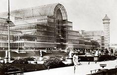 Exposition universelle 1851 crystal palace de Jospeh Paxton // Hyde Park, Londres / naissance du design