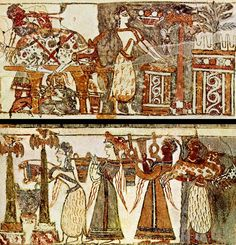 Minoans with alil tampering added to it. Greek History, Ancient History, Art History, European History, Ancient Aliens, American History, Ancient Greek Art, Ancient Greece, Egyptian Art