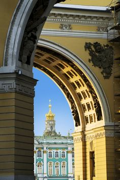 The Hermitage St Petersburg, Russia. #architecture