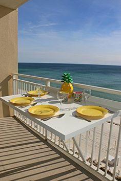 Balcony Table, 4-top, White