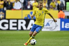 Sebastian Larsson of Sweden during the international friendly between Sweden and Wales at Friends Arena on June 5, 2016 in Solna, Sweden. #Seb