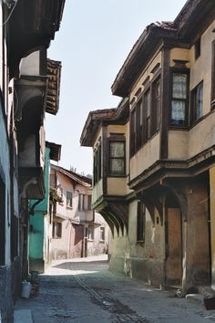 Houses of Kutahya through the eyes of agustosbocugu -Turkey