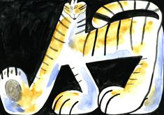 Molly Fairhurst Explores Outsider Art in Ways to Draw A Tiger' Robot Art, Robots, Bad Art, Character Concept, 3d Character, Sci Fi Characters, Children's Picture Books, Portrait Illustration, Retro Futurism