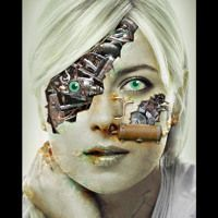 METAL FACE by DJ N WEST on SoundCloud Dj, Halloween Face Makeup, Metal, Metals