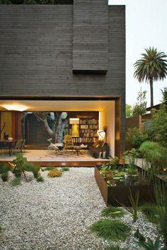 34 Ideen Für Gartengestaltung Mit Kies   Preisgünstige Lösung. Garden StylesFacadeHome  ...