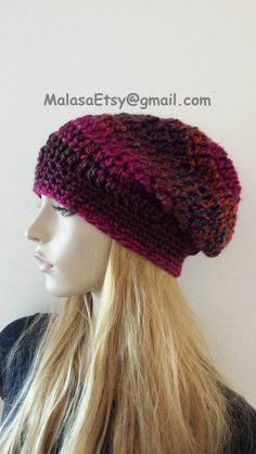 580a1c5295e Slouchy HAT Beanie Hat Slouchy Bohemian Hat all seasons