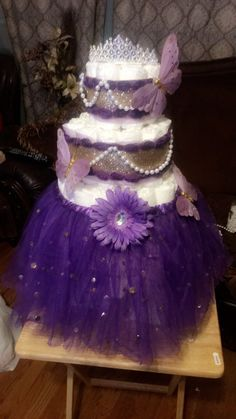 Purple Amp Gold Royal Themed Baby Shower Baby Shower Ideas