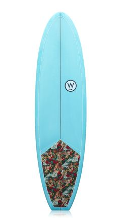 """Watershed Shallot 7'0"""" Surfboard Pin Up Fabric"""