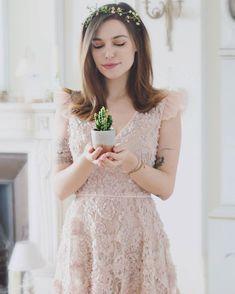 "309.9k Likes, 1,956 Comments - Marzia Bisognin (@itsmarziapie) on Instagram: ""New little succulent. New cute dress @lazzaristore """
