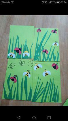 Výtvarná výchova vytvarka jaro spring louka kids art Letter D Crafts, Art Projects, Projects To Try, Winter Sports, Art For Kids, Christmas Decorations, Scrapbook, Lettering, Spring