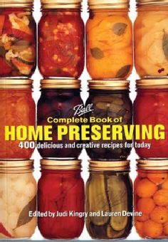 From the experts, the new bible in home preserving. Ball Home Canning Products are the gold standard in home preserving supplies, the trademark jars on display in stores every summer from coast to coa