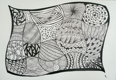 zentangle drawing beginners easy patterns doodle mandala google doodles bing simple zentangles drawings groep lente square tangles tangle