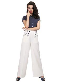 Bernadette Sailor Trousers 0