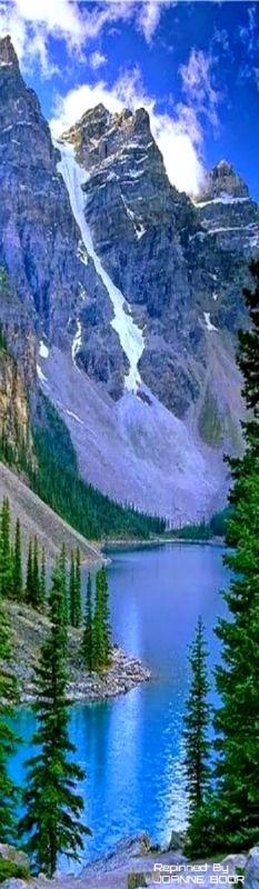 Majestic Anderson Lake, British Columbia, Canada by Pierre Leclerc