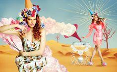 BECHA x Ana Ljubinkovic x FAAR Magazine - Collage Illustration editorials  http://www.itsmachas.com/news/view/never-forever #collage #illustration #editorial