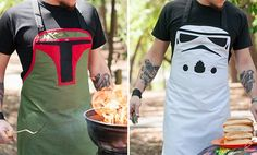 Star Wars BBQ aprons