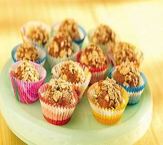 Peanut Butter-Jelly Cups-is a delicious, easy and quick, (15) minute recipe and a no-cooking recipe for a perfect and simple snack or treat. Great for both kids and adults. Ingredients include peanut butter, apricot preserves, dried apricots, and granola. It is also a low calories, low fat, low cholesterol, low sodium, low sugars, low carbohydrates, heart-healthy, diabetic friendly and Weight Watchers (1) PointsPlus recipe.