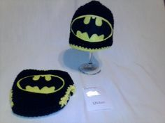 Check out this item in my Etsy shop https://www.etsy.com/listing/209370537/crochet-batman-diaper-set