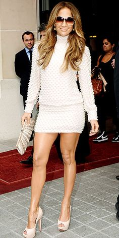 Jlo- The legs I aspire to but most likely will never have .