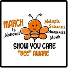 March is National Multiple Sclerosis Awareness Month!