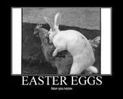 Truth about easter eggs