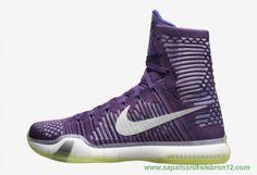 sites de lojas de tenis Roxo Nike Kobe 10 Elite 641714-012