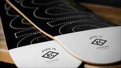 Series of products for the kansas city based skateboard company