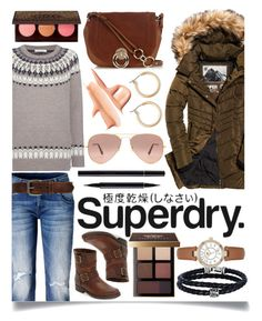 """""""The Cover Up – Jackets by Superdry: Contest Entry"""" by ittie-kittie ❤ liked on Polyvore featuring Superdry, Frye, Diane Von Furstenberg, SUQQU, Bobbi Brown Cosmetics, Nordstrom, Ray-Ban, Phillip Gavriel, Juicy Couture and Bed