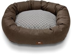 West Paw Design Hemp Bumper Bed Small 23 by 19-Inch Dog Stuffed Bed, Timber *** To view further for this item, visit the image link.