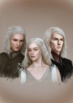 Book related anyhow! A Song of Ice and Fire fanart.   The Mad King's Children by denkata5698.deviantart.com