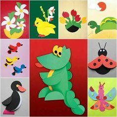 Animalitos con papel