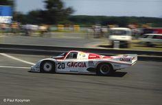 1984 Porsche 956  Porsche (3.708 cc.) (T)  Oscar Larrauri  Massimo Sigala  Joël Gouhier