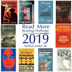Read More Reading Challenge: A Book Written by an Author Under 30 Purple Hibiscus, Raised By Wolves, The Hitchhiker, Reading Challenge, Read More, Books To Read, Blues, Novels, Challenges