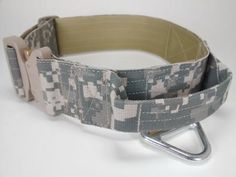 Tactical military dog collar with handle 50mm/ 2inch -All Available Camouglage Patterns (Texcel Inc), COBRA buckle