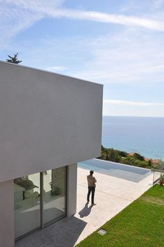 Nice O mar protagonista desta casa na Fran a