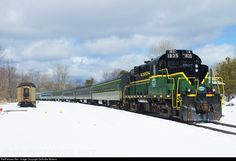 RailPictures.Net Photo: ADIX 1835 Adirondack Scenic Railroad MLW RS-18 at Remsen, New York by DeAndre Walters