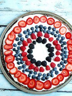 Easy & Healthy Fruit Dessert Pizza