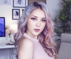 17 Trendy hair color korean ulzzang make up Pony Makeup, Hair Makeup, Korean Beauty, Asian Beauty, Korean Eyebrows, Asian Makeup, Korean Makeup, Rainbow Hair, Flawless Skin
