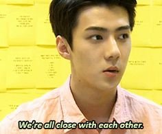 you tell them, sehun! (3/4)