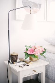 Dressed up: http://www.stylemepretty.com/living/2015/03/16/25-nightstands-worthy-of-sleeping-next-to/
