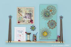 From needlework and paint to paper and cork, there are tons of great ways to craft with canvas.