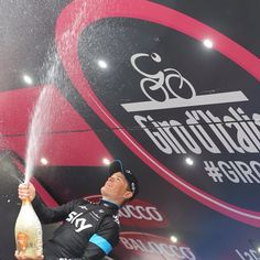 Vasil kiryienka wins the individual time trial for team sky with Luis Leon Sanchez coming in 2nd and alberto contador in 3rd!  Well done Kiry!  #vasilkiryienka #kiry #kiryienka #teamsky #giro #giro2015 #giroditalia #